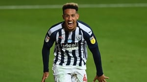 Callum Robinson helped West Brom to gain promotion.