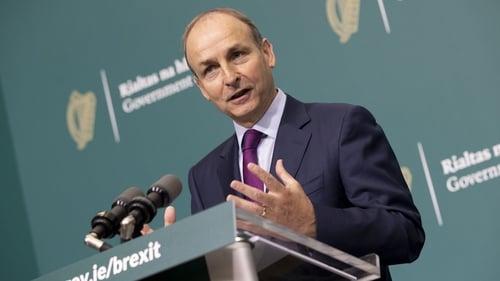 Taoiseach Micheál Martin spoke by phone toBritish Prime Minister Boris Johnson