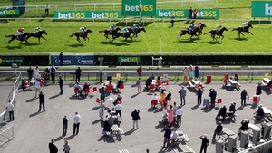 Racegoers attending Wednesday's St Leger meeting at Doncaster