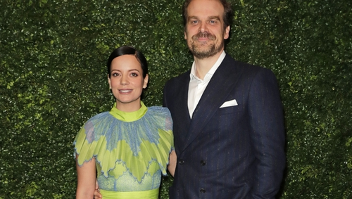 David Harbour and Lily Allen Get Married In Las Vegas