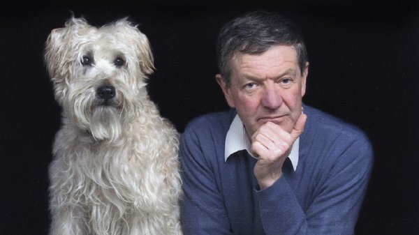 Sociologist and lifelong dog-lover Tom Inglis: 18 years with his beloved Pepe
