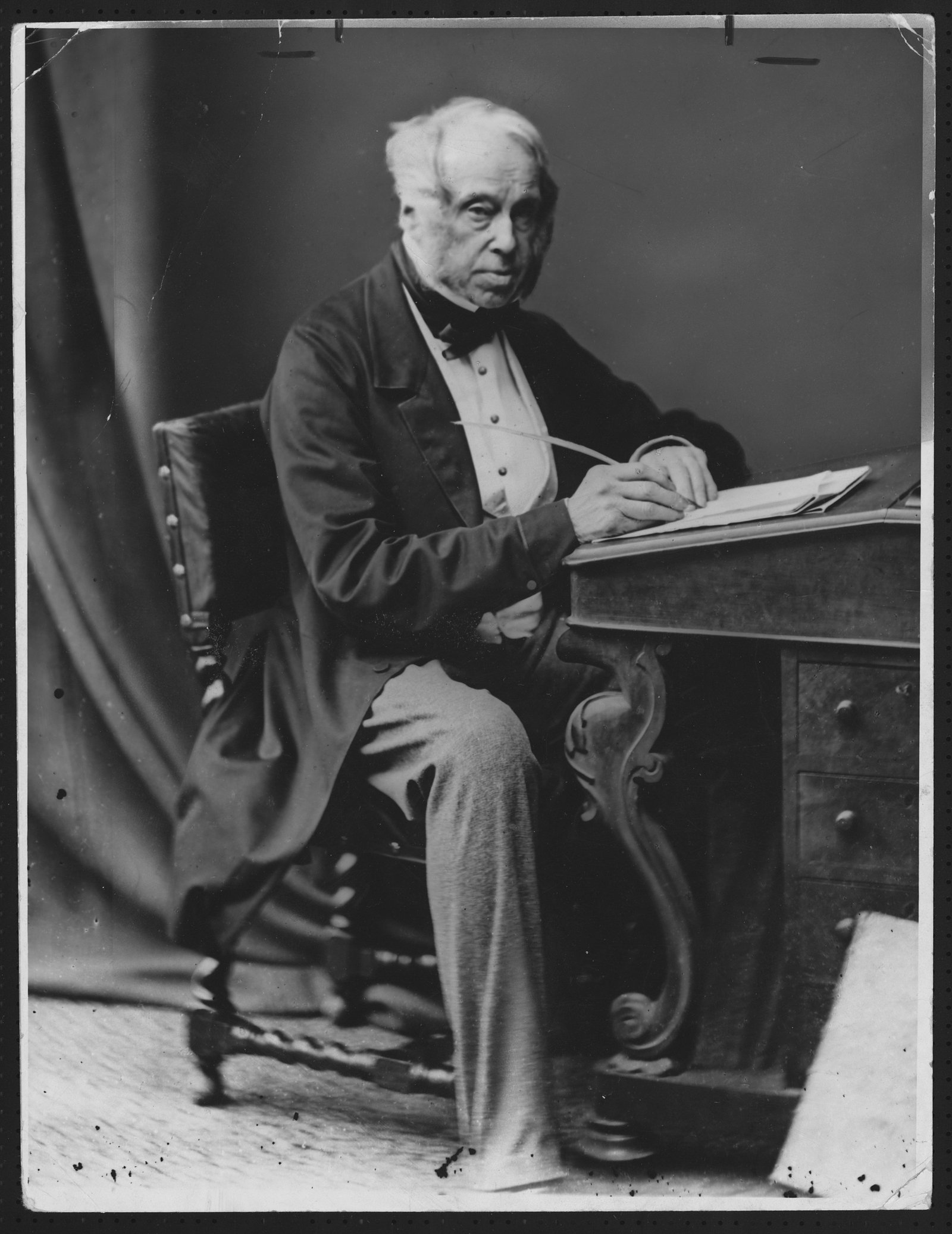 Image - Landowner and later British Prime Minister Henry John Temple Palmerston, shown here in 1860. Photo: Hulton-Deutsch Collection/CORBIS/Corbis via Getty Images
