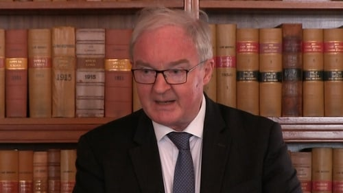 Northern Ireland Lord Chief Justice Declan Morgan spoke about trust in the administration of justice (file pic)