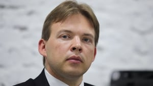 Maxim Znak, a lawyer and a member of the Coordination Council of the Belarusian opposition