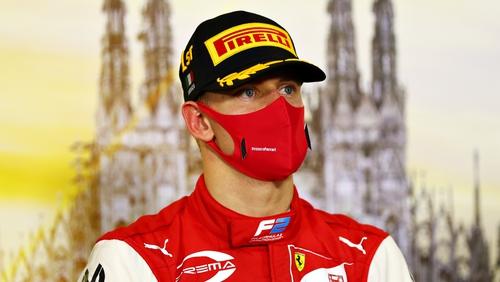 Schumacher's son to drive '04 Ferrari before Tuscan GP