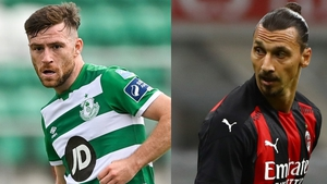 Jack Byrne and Zlatan Ibrahimovic are likely to feature at Tallaght Stadium