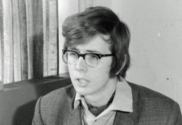 Student leader and Chairman of the Student Council Richard Philip , New University of Ulster in Coleraine (1970)
