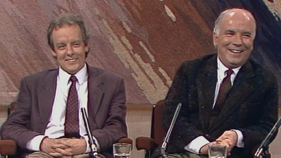 Jim Sheridan and Noel Pearson, The Late Late Show (1990)