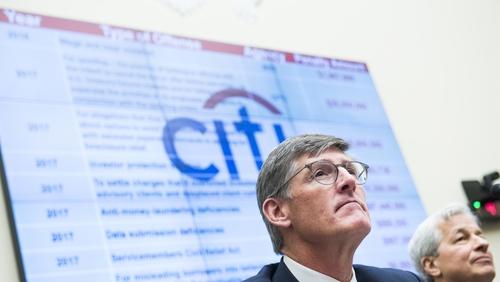 Outgoing Citigroup CEO Mike Corbat