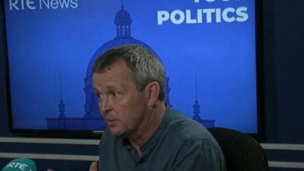 Richard Boyd Barrett TD speaking on Your Politics podcast