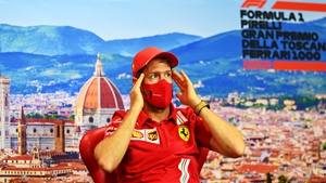 Vettel will race for Ferrari are their 1000th championship race this weekend