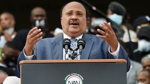 Martin Luther King III said Donald Trump is 'not a unifier'