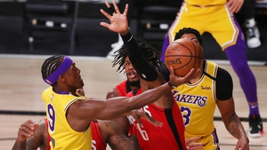 Rajon Rondo made a significant impact from the bench for the Lakers