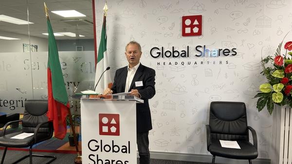 Tim Houstoun, Chief Executive of Global Shares