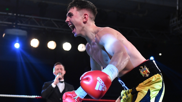 Victor Rabei remains undefeated in the professional ranks