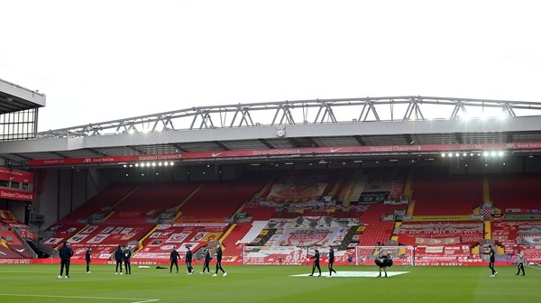 Anfield's capacity will rise to over 61,000