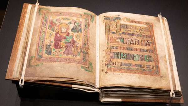 The Book of Kells can now be viewed in a new state-of-the-art display at Trinity College Dublin (Courtesy: The Board of Trinity College Dublin)