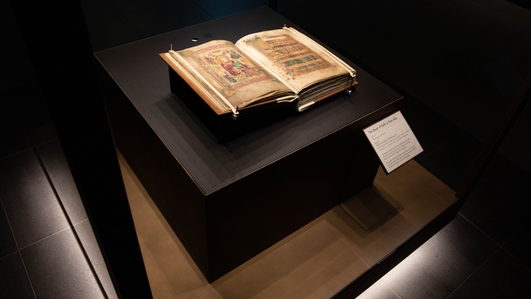 The Book of Kells back on display