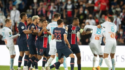 Carnage in Le Classique as Neymar accuses Alvaro Gonzalez of racism