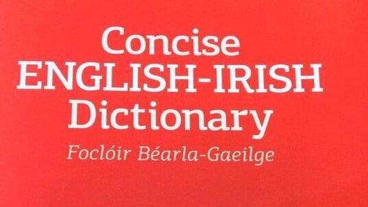 Cormac Breathnach; Foclóir nua Béarla, Gaeilge.