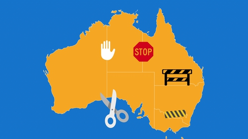 Australia began life as six self-governing British states and territories that agreed to form a federation around 1900
