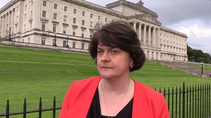 Arlene Foster said it was important to get children back to school (file image)