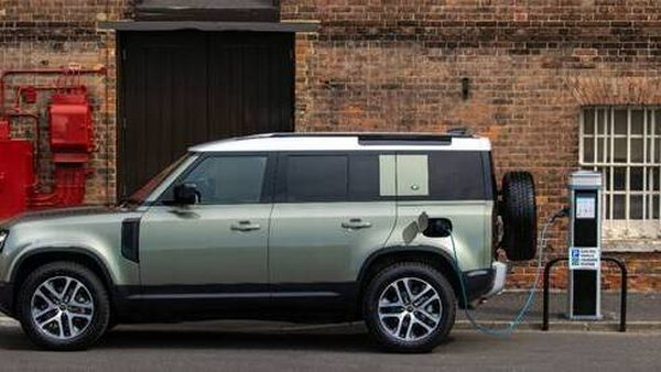 The Defender 110 is the first Land Rover to go hybrid.
