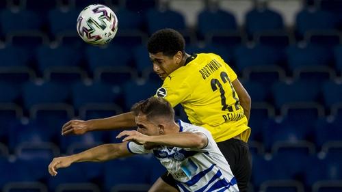 Jude Bellingham was on the mark for Borussia Dortmund
