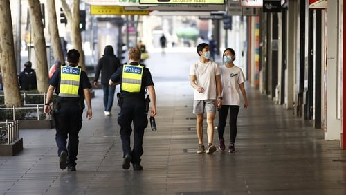 A strict lockdown in Melbourne has been loosened