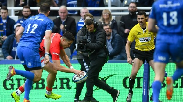 Maitland scored a try in last year's 20-10 Champions Cup final win against Leinster