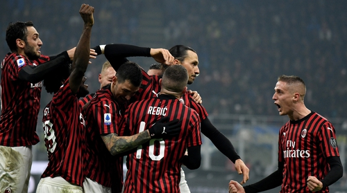 AC Milan roll into town on Thursday