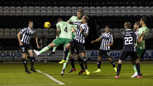 Shane Duffy equalises for Celtic against St Mirren