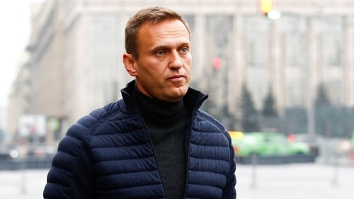 Alexei Navalny was flown from Russia to Berlin last month after falling ill on a domestic flight in Siberia
