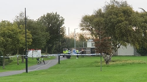Gardaí are at the scene where the body was discovered atBlackrock, Dublin
