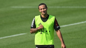 Thiago Alcantara looks to be his way to Liverpool