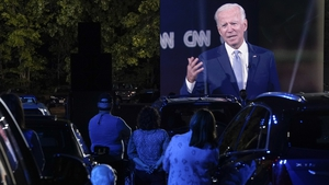 Joe Biden spent much of the evening attacking Donald Trump for his handling of the pandemic