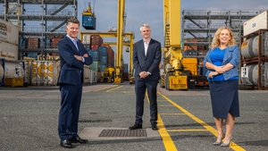 Michael Costello, Managing Partner, BDO Ireland, Denis McCarthy, CEO of FEXCO and Carol Lynch, Partner in BDO Customs and International Trade Services