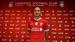 Liverpool's new recruit Thiago Alcantara