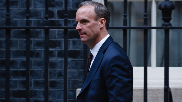 Dominic Raab visited Washington DC this week to speak to senior figures about Brexit and Northern Ireland