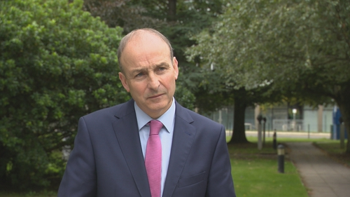 Micheál Martin said his advice to people is to 'stick with it'
