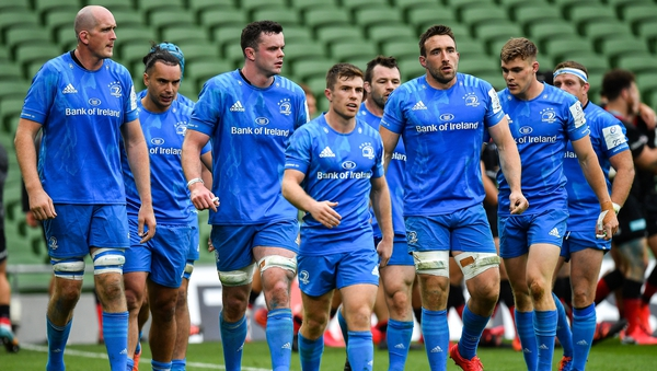 Leinster players react to Alex Goode's first-half try