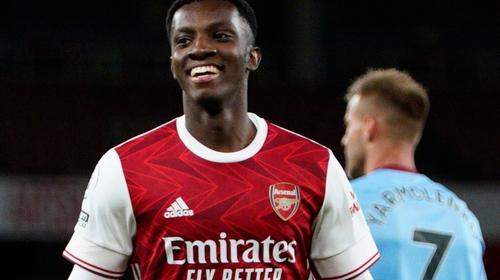 Eddie Nketiah scored an 85th-minute winner