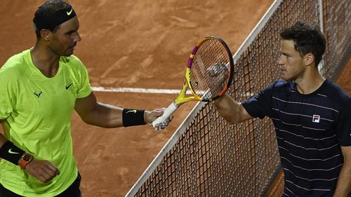 Nadal Loses To Schwartzman In Rome Quarter Final