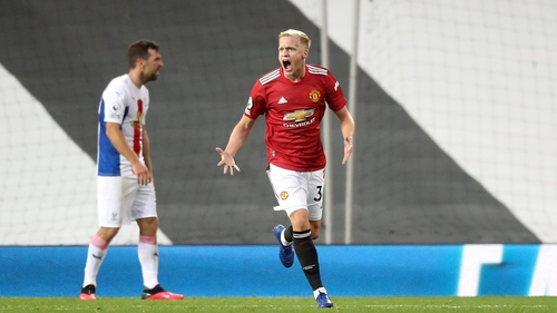 The Dutch international did find the net on his United debut