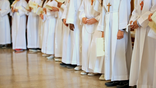 The Government's advice is that that communions and communications 'should not take place at this time'