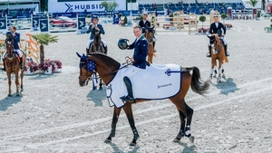 Denis Lynch and Cristello (Photo: Hubside Jumping)