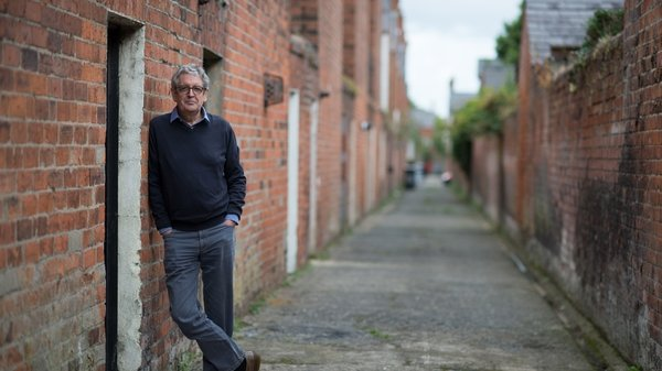 Poet and memoirist Gerald Dawe in his Belfast stomping ground (Pic: Bobby Hanvey)