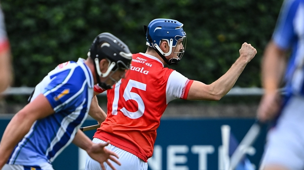 Moran hit two goals for Cuala