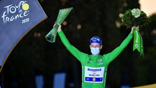Bennett is the first Irish green jersey winner since 1989