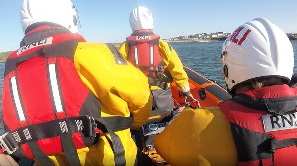 The RNLI reminded people to be mindful of currents